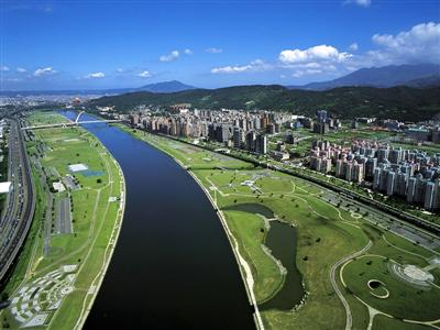 cycle paths in neihu and nangang taipei
