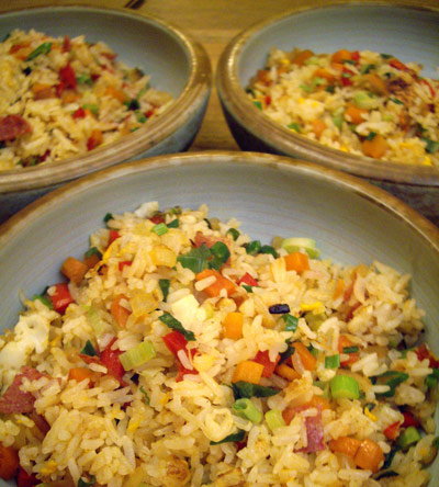 Taiwan fried rice!
