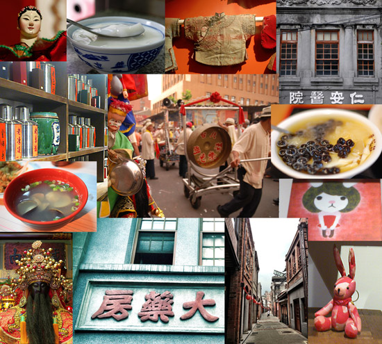 Old Taipei Tour - Dadaocheng and Dihua Street
