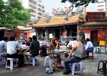 Mazu Temple Beer Garden (photo by Joyce Tay)